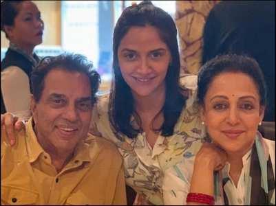 Exclusive! Hema Malini on Ahana's twins