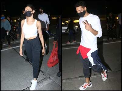 Pics: DP, Siddhant get clicked in the city