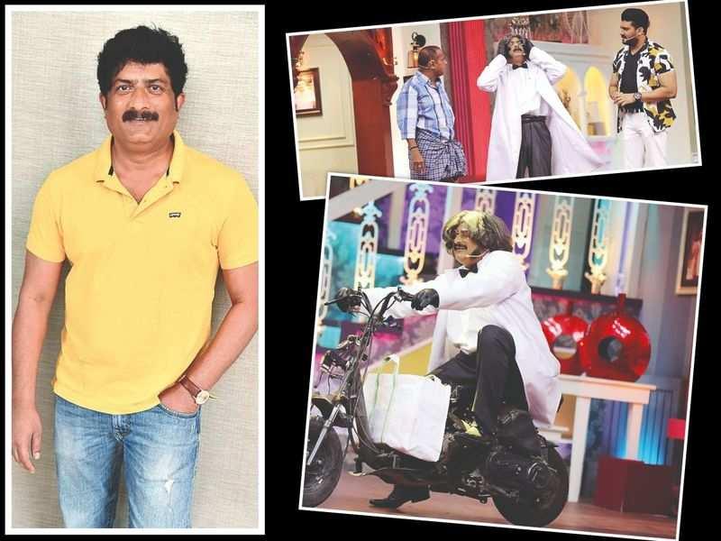 Ravishankar Gowda returns to television after 14 years with Majaa Talkies
