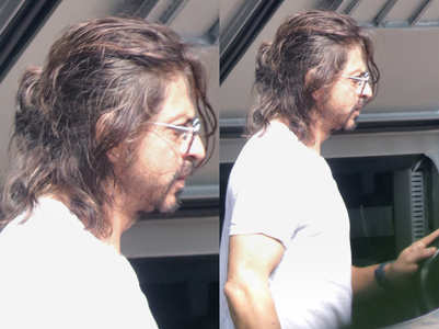 Shah Rukh Khan's long hair look is so HOT