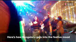 Here's some throwback when Bengaluru folks dressed in their best for the festive mode
