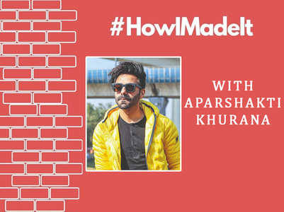 #HowIMadeIt: Aparshakti on B'Wood journey