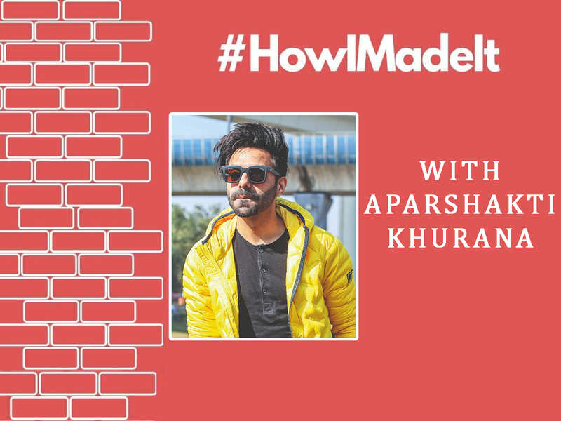 "#HowIMadeIt! Aparshakti Khurana: ""People have mistaken me for my brother Ayushmann at times"""