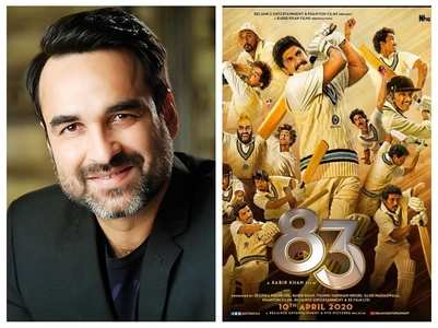 Pankaj on bonding with his '83' co-stars