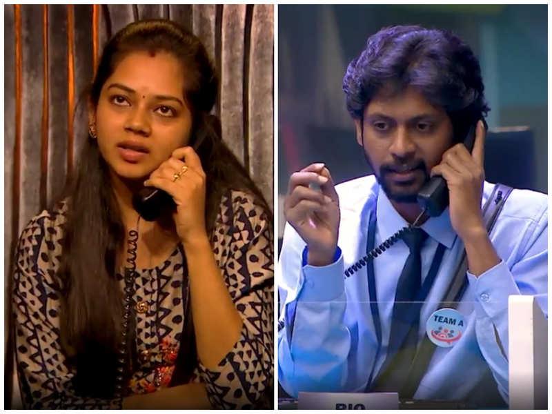Bigg Boss Tamil 4: Anitha upsets Rio Raj in call centre task