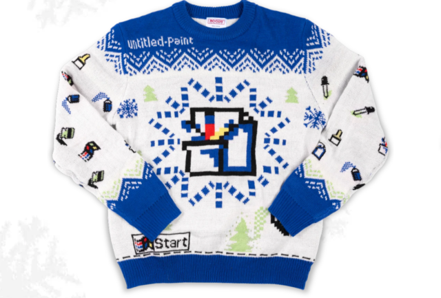 Here's why Microsoft is selling this ugly Windows sweater