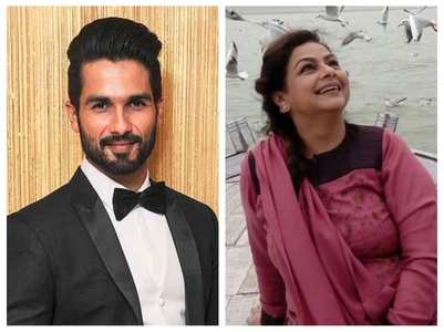 Shahid has the sweetest B'day wish for mom