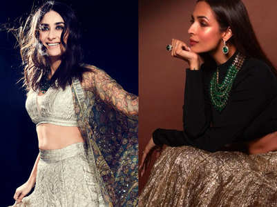 Kareena vs Arora: Who wore the crushed lehenga better?