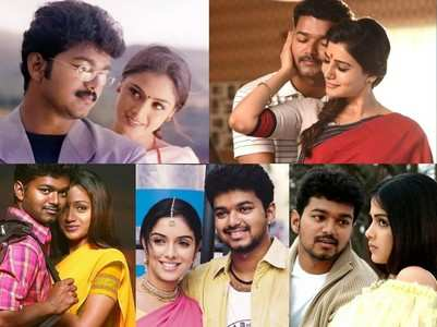 Five favourite on-screen pairs of Vijay
