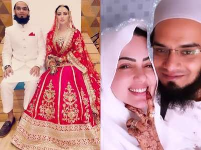 Sana shares romantic photo with Mufti Anas