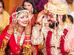 Inside pictures from composer duo Sachet Tandon and Parampara Thakur's lavish wedding ceremony