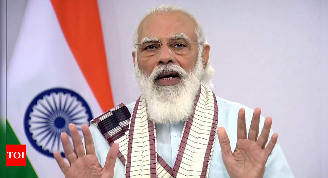 PM Modi discusses cyclone situation with Kerala CM Pinarayi Vijayan   India News – Times of India