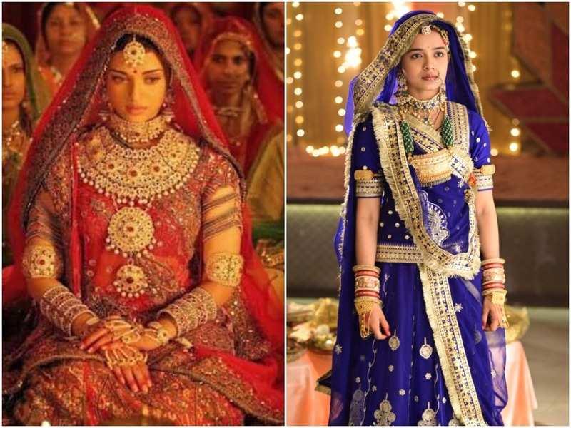 Apna Time Bhi Aayega Actress Megha Ray Dons A Wedding Attire Inspired By Aishwarya Rai S Look In Jodha Akbar Times Of India Aishwarya rai in jodha akbar, aishwarya rai in lehenga. apna time bhi aayega actress megha ray