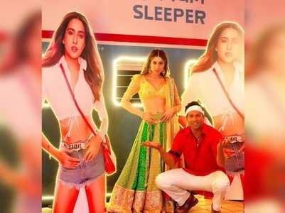 #CoolieNo1: Varun-Sara tease 'Bhabhi' song