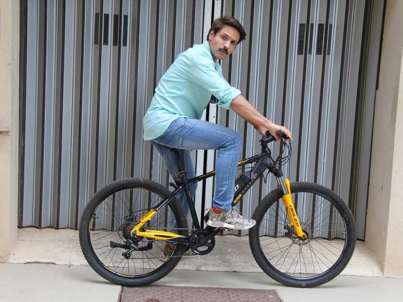 Iqbal Khan: I prefer using my cycle for short-distance travel
