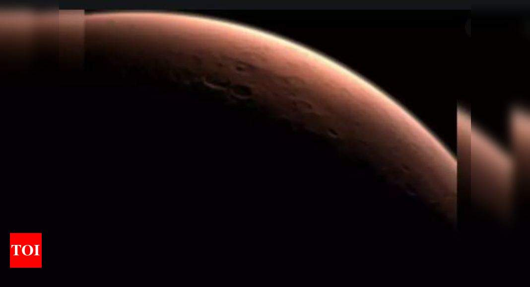 Potential life on Mars likely lived below the surface: Study – Times of India