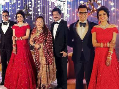 PICS: Aditya-Shweta's wedding reception