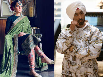 Kangana & Diljit engage in a war of words