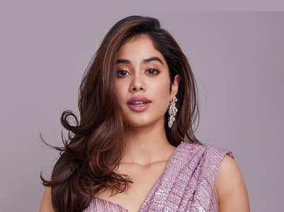 Janhvi Kapoor's stylish saree collection