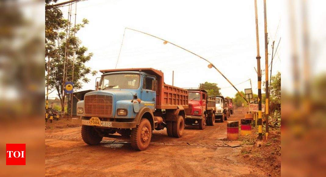 Goa: 'Explore options to restart mining operations' | Goa News – Times of India