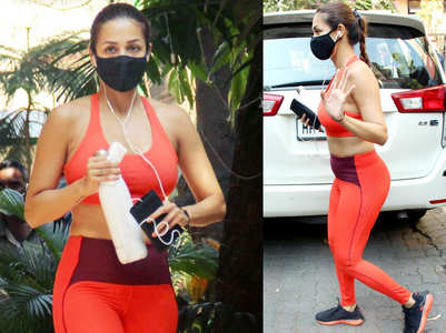 Malaika gets papped post her workout session