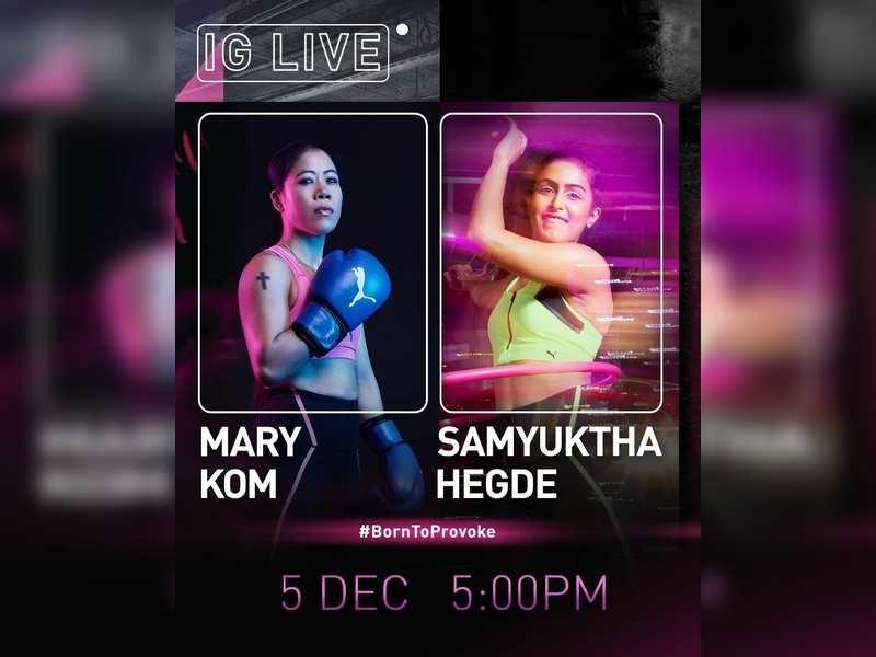 Samyuktha Hegde to interview Mary Kom