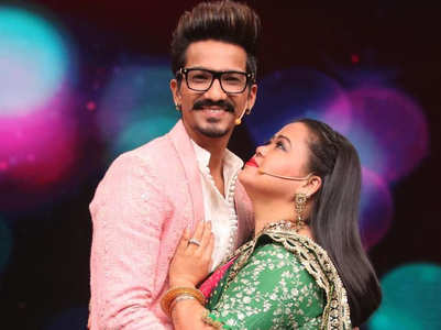 Bharti and Haarsh: The cute TV couple