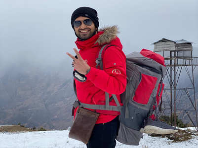 Rahul felt like child after seeing snowfall