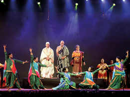 A story from the Mahabharata comes alive on stage at Lucknow University