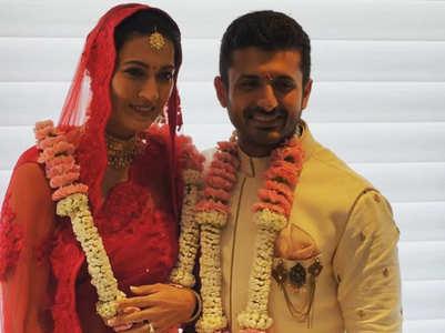 PICS: Anita Raaj's son Shivam ties the knot