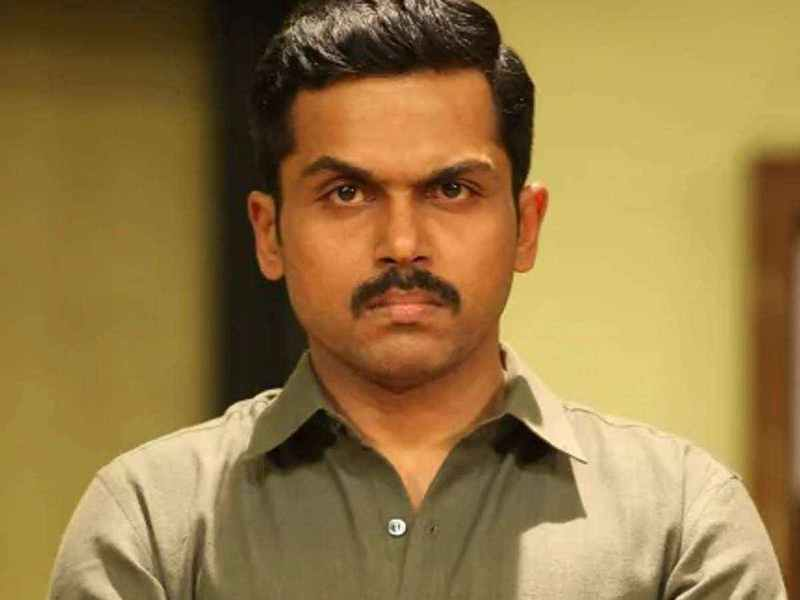 Karthi extends his support to protesting farmers