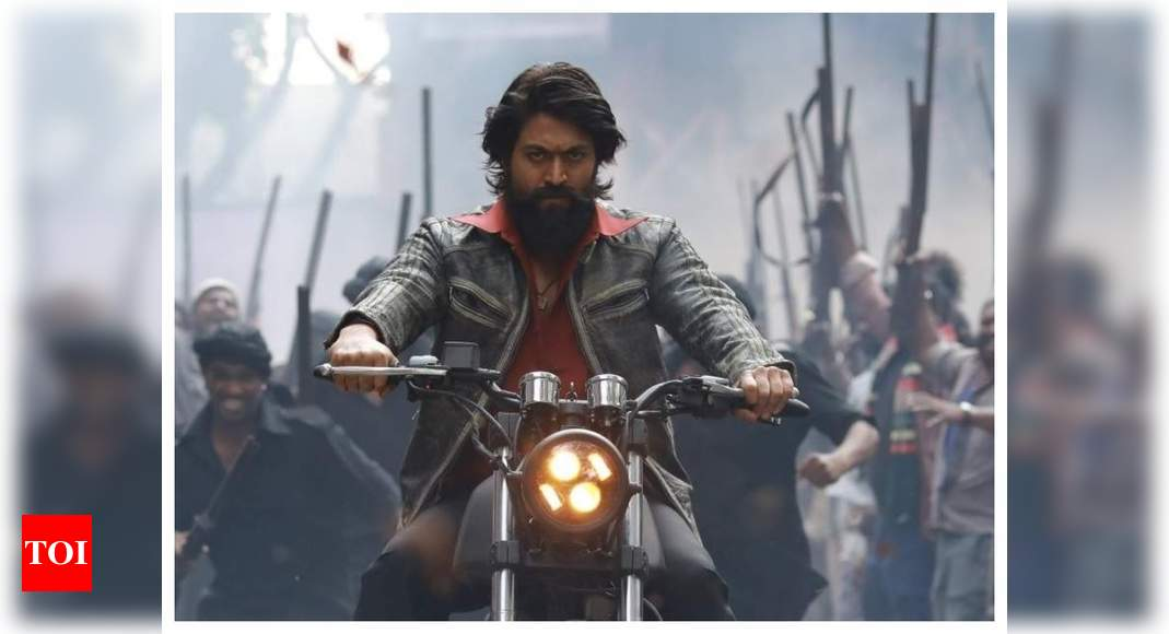 'KGF: Chapter 2': Teaser of the much-awaited second part to be unveiled on Yash's birthday – Times of India