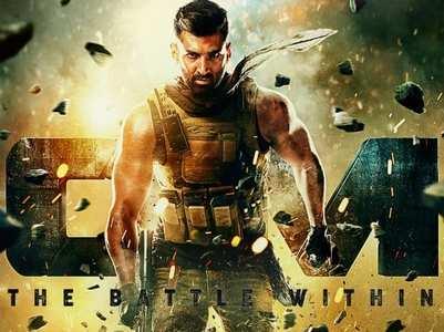 Aditya flaunts his body in Om poster