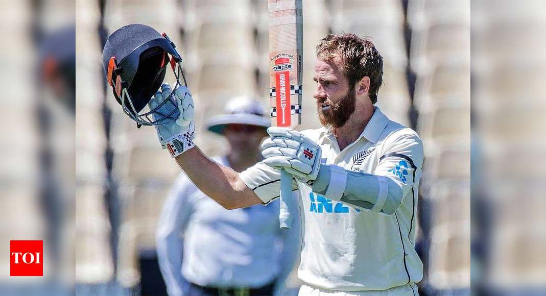 Williamson's Test-best double ton sets West Indies huge target | Cricket News – Times of India