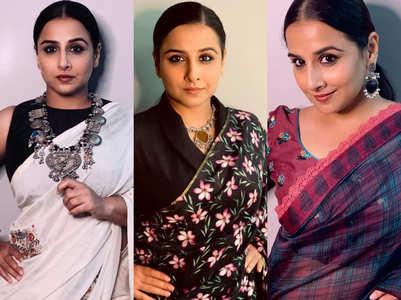 Vidya Balan wore 3 saris in 24 hours