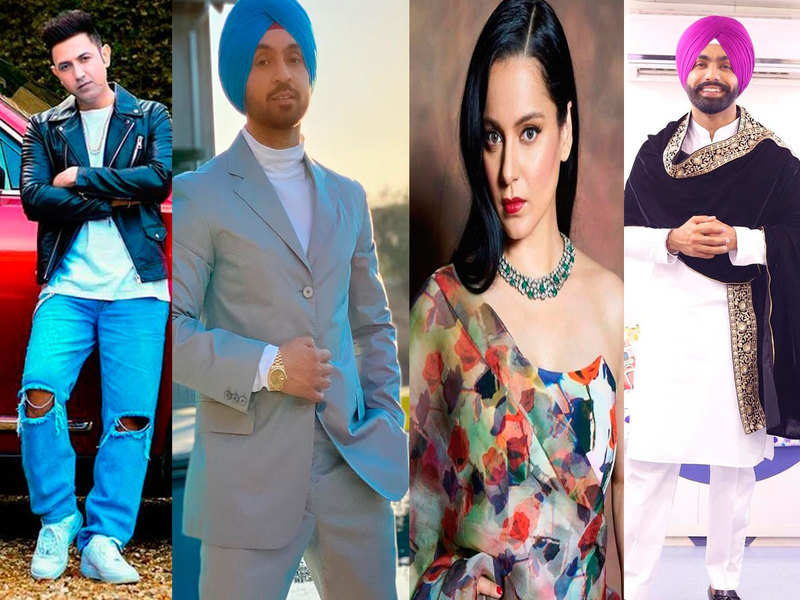 Diljit Dosanjh-Kangana Ranaut Twitter war: Gippy Grewal, Ammy Virk, Jassie Gill and others support the Punjabi actor
