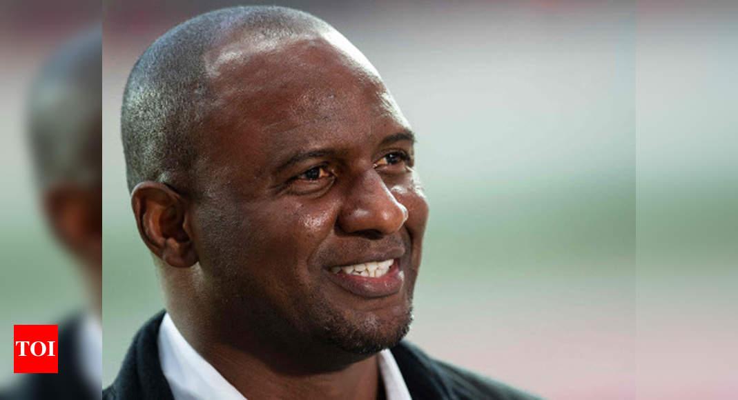 Patrick Vieira sacked as Nice coach after run of defeats