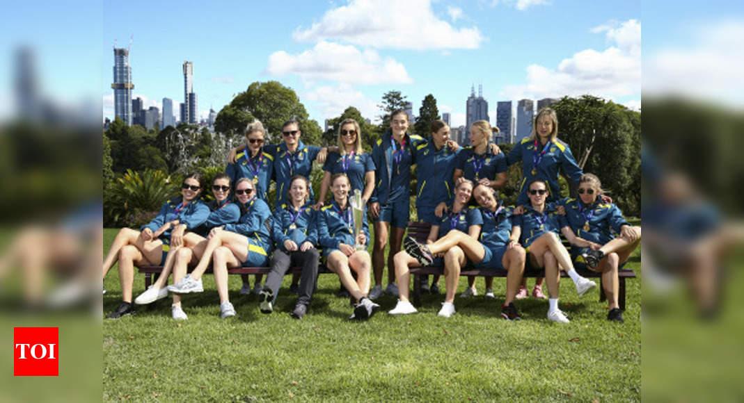CA congratulates Australian women's team on winning Don Award