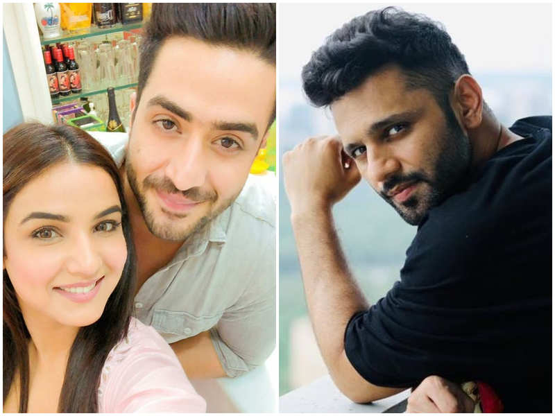 Apart from Jasmin Bhasin, Aly Goni shared a good rapport with Rahul Vaidya (right) inside the 'Bigg Boss' house