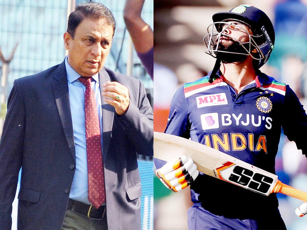 Sunil Gavaskar surprised by Ravindra Jadeja substitution 'noise' | Cricket  News - Times of India