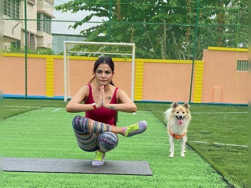 Sayantani Sengupta has taken up yoga. Here's why…