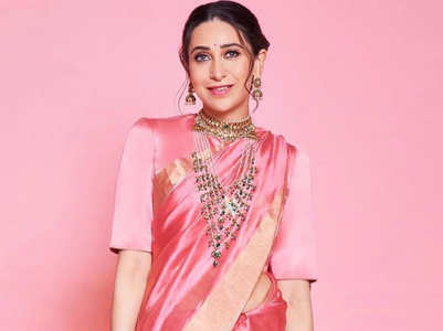 6 saris of Karisma Kapoor that are perfect for any occasion!