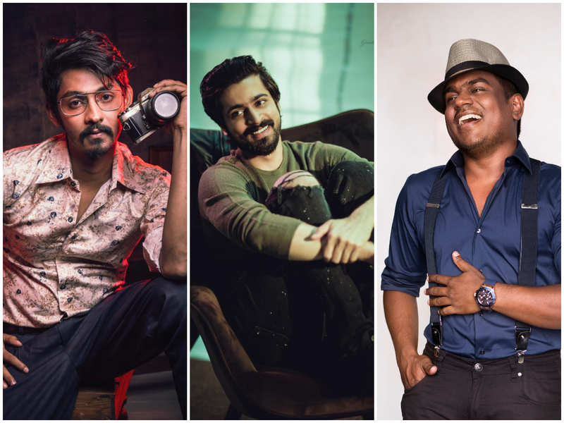 Harish Kalyan to have multiple looks in his movie with Elan and Yuvan