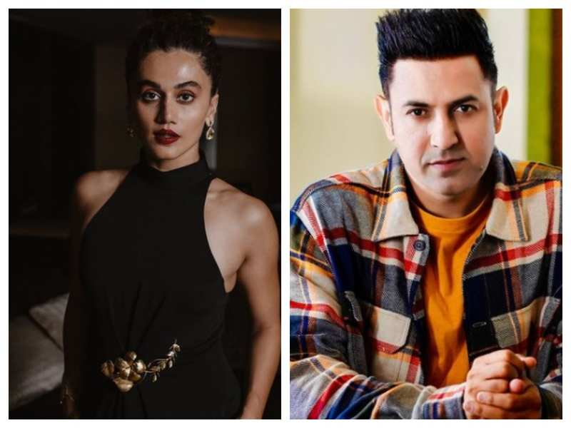 Taapsee Pannu reacts to Gippy Grewal's tweet on Bollywood not supporting farmer's protest: don't put us all under same umbrella