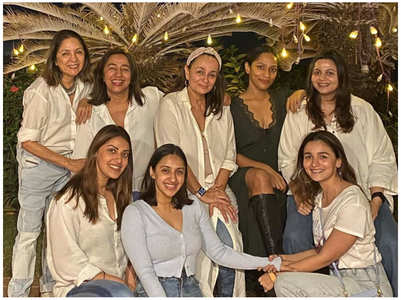 See Pic: Alia & B'Wood kids with mommies