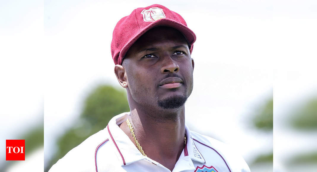 New Zealand vs west indies:  Our top order needs to stand up, says Jason Holder after New Zealand crushed Windies in 1st Test | Cricket News – Times of India