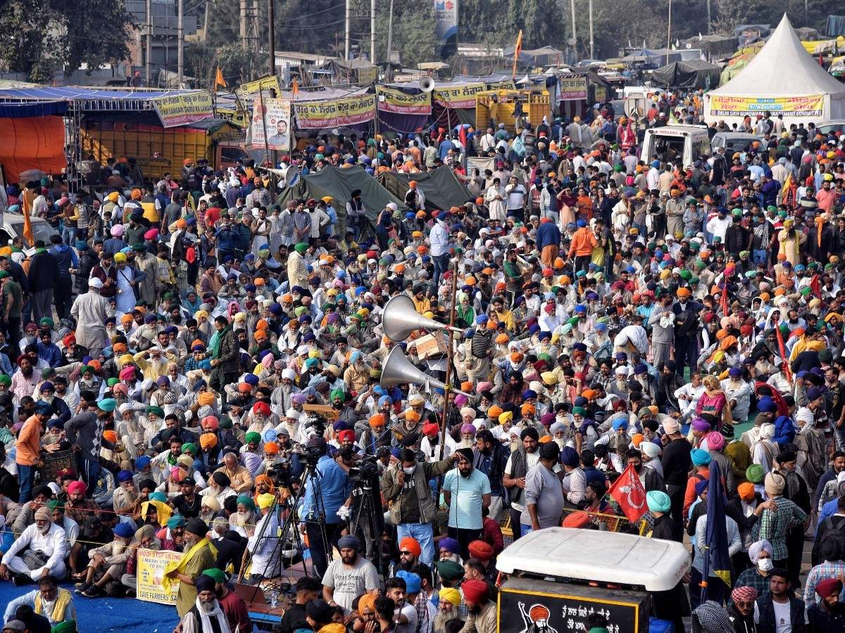 Farmers Bharat Bandh: Opposition parties support Tuesday's 'Bharat Bandh';  Farmer unions say their stir has now spread across country | India News -  Times of India