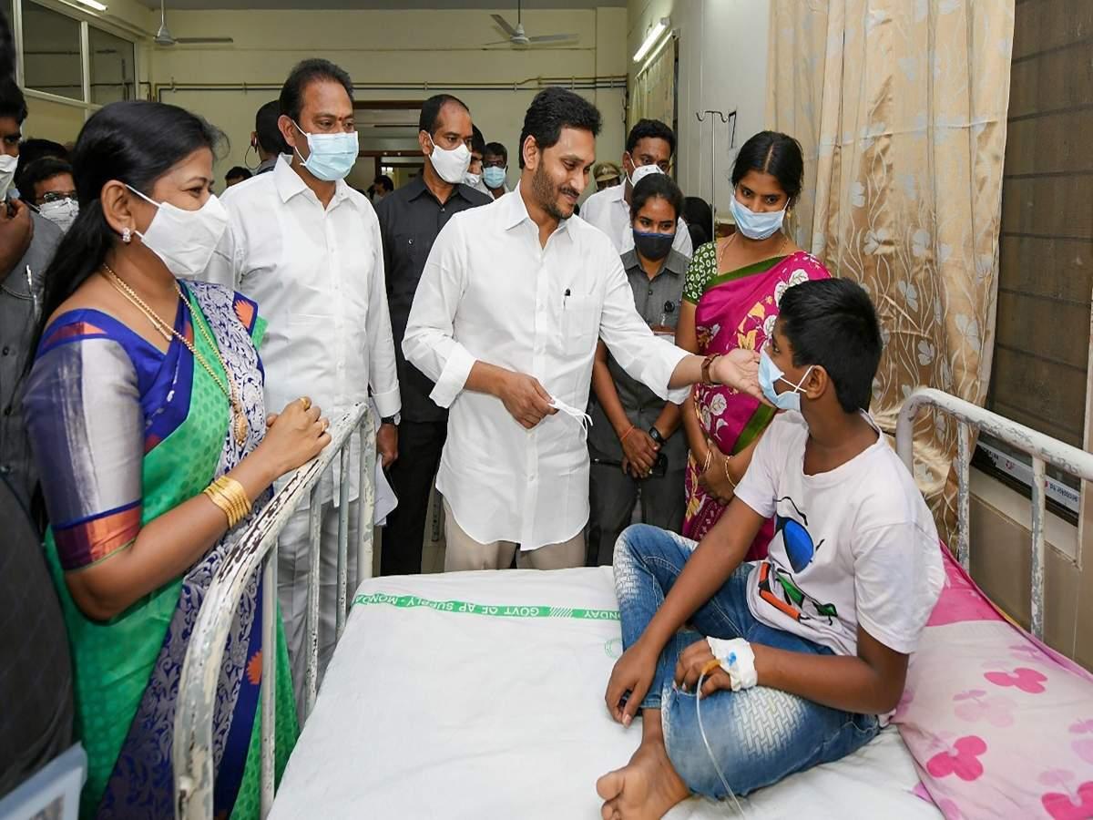Andhra Pradesh Eluru disease news: Cause of 'mystery disease' in Andhra Pradesh's Eluru remains unknown   India News - Times of India