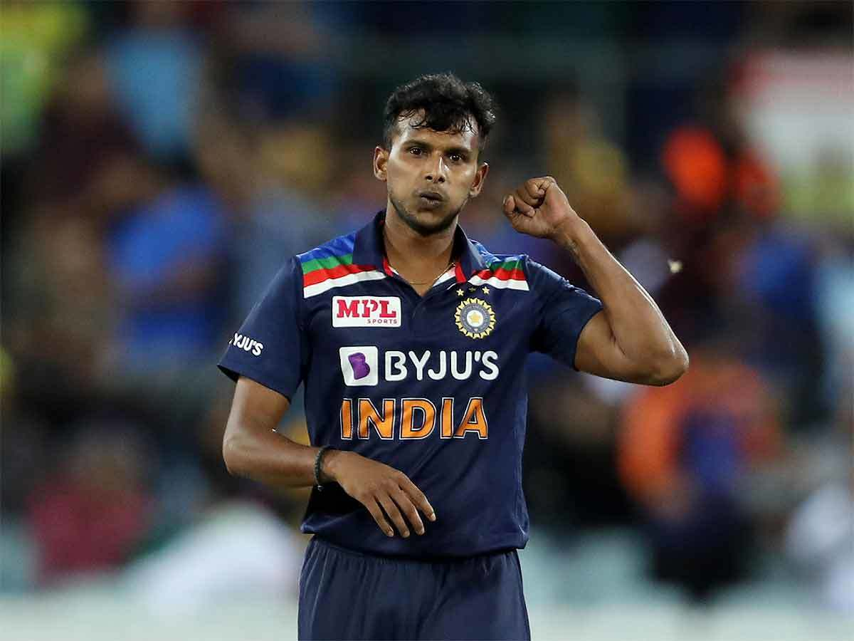 The strokes of luck that helped T Natarajan go from net bowler to strike  bowler | Cricket News - Times of India