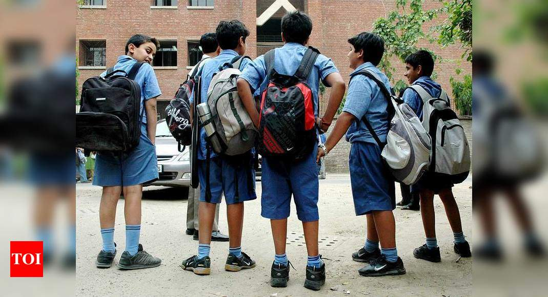 Education Ministry suggests no homework up to class 2, regularly weighing school bags
